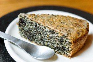 Gâteau au pavot sans farine