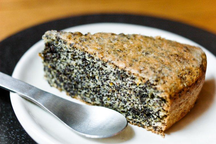 Gâteau au pavot sans farine Recette