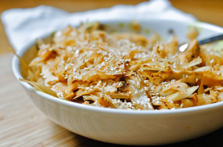 Spicy Cabbage Chicken