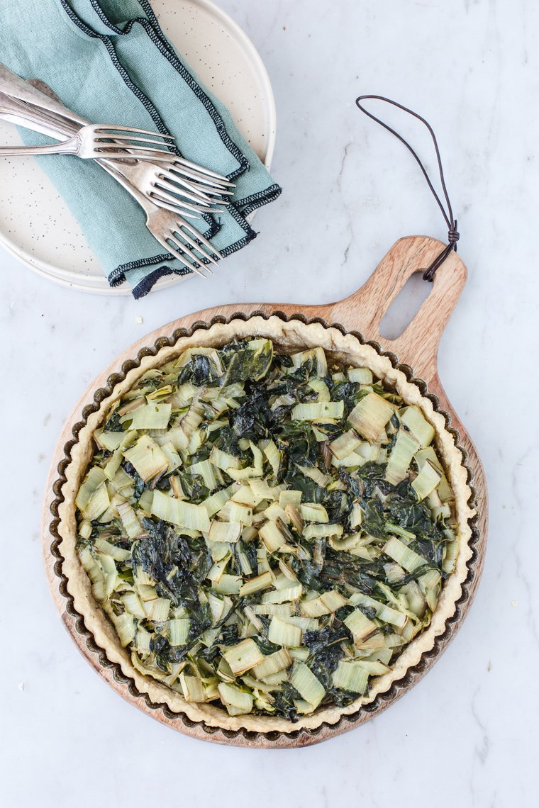 Pâte à tarte à l'huile d'olive