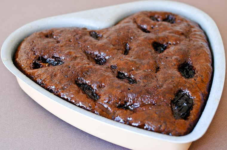 Gâteau au chocolat et aux pruneaux Recette