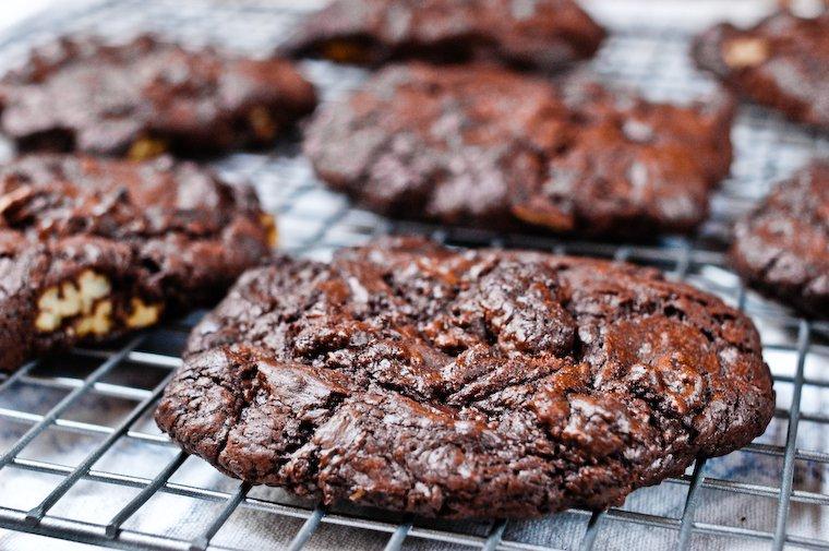 Cookies ultra chocolat aux noix de pécan Recette