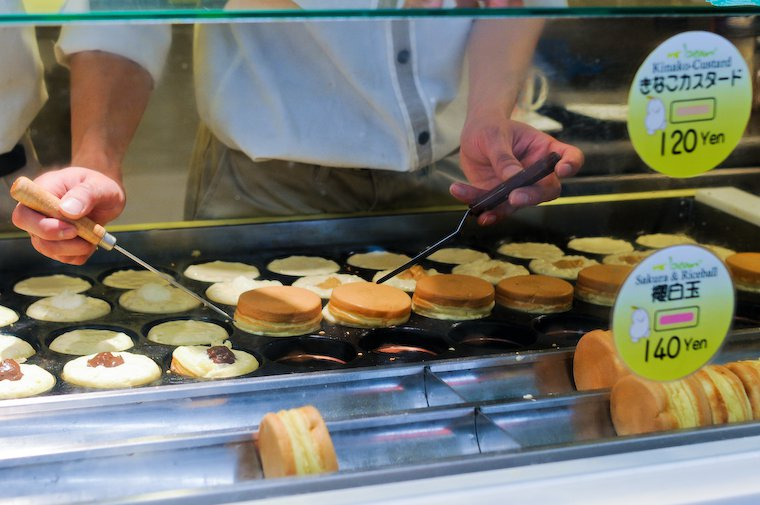 Pancakes fourrées