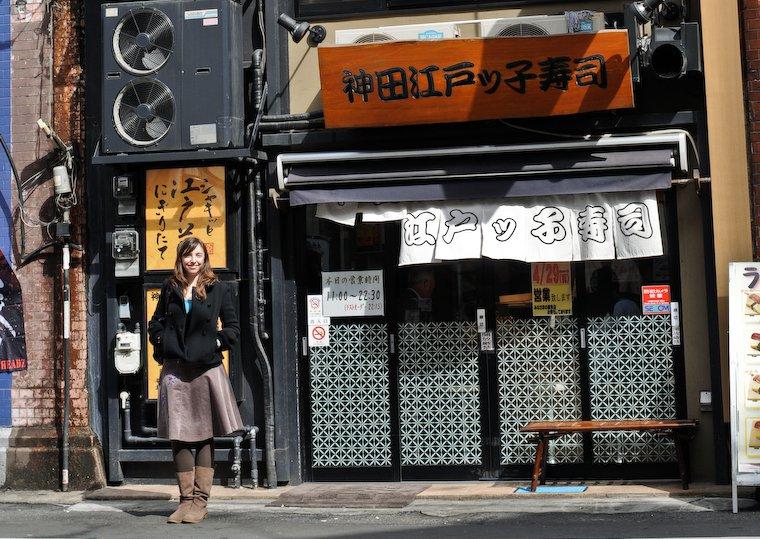 Edokko Sushi à Kanda (Tokyo)