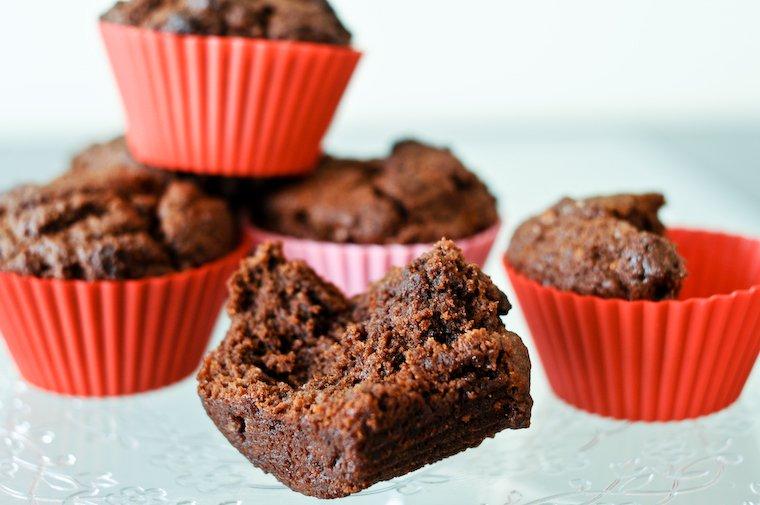 Muffins fondants choco-coco Recette