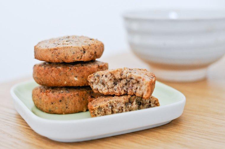 Biscuits aux graines et sarrasin Recette