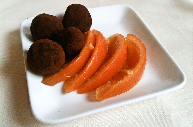 Tranches d'oranges confites Recette