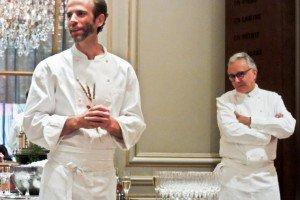 Dan Barber et Alain Ducasse.