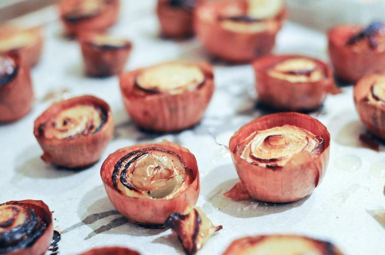 Oignons rôtis