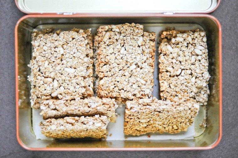 Barres de céréales Recette