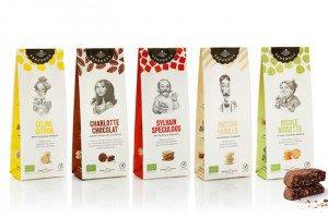 Biscuits bio et sans gluten de la biscuiterie artisanale belge Generous.