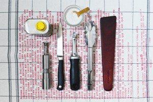 Kit minimaliste pour cuisiner en vacances