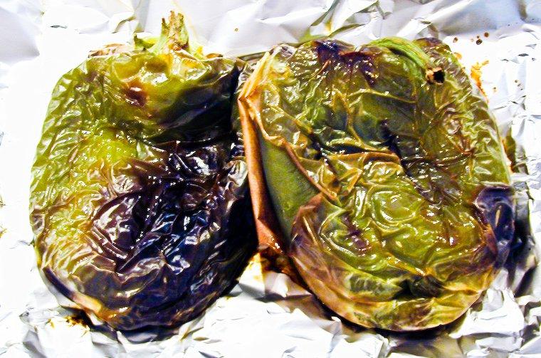 Poivrons grillés Recette