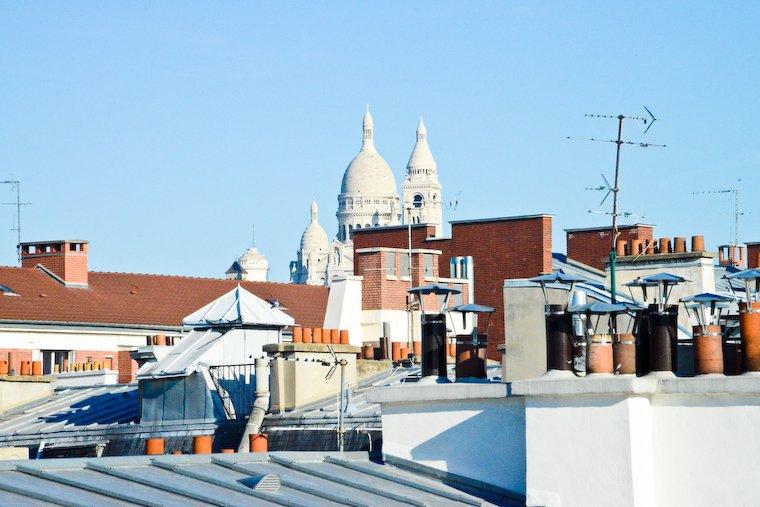 Le Sacré-Coeur depuis les toits