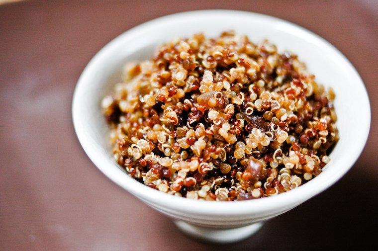 Quinoa un peu japonais Recette