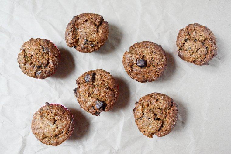 Muffins banane et chocolat (vegan) Recette | Chocolate & Zucchini