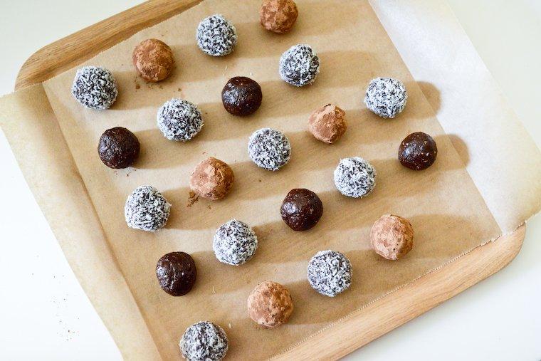 Truffes de chocolat cru aux noisettes Recette | Chocolate & Zucchini