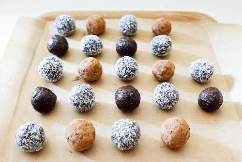 Truffes au chocolat cru-5