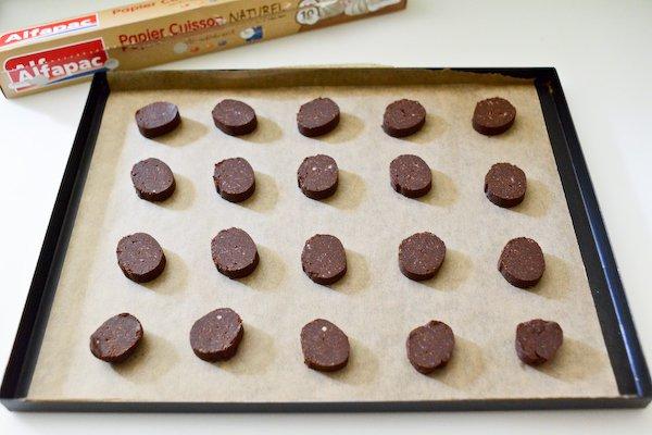 Sablés au chocolat sans gluten