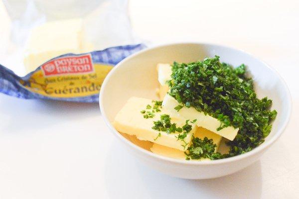 Beurre et herbes