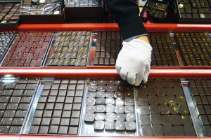 Henri Le Roux : Bonbons de chocolat