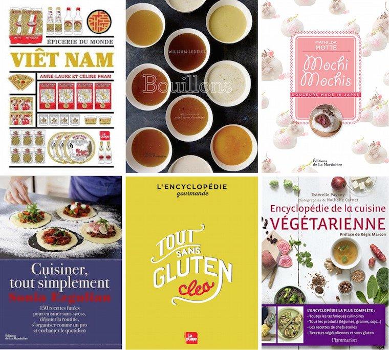 12 Livres de cuisine à offrir
