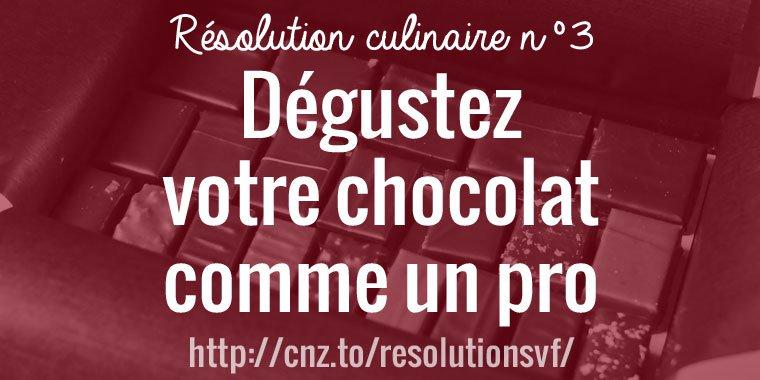 Dégustez votre chocolat