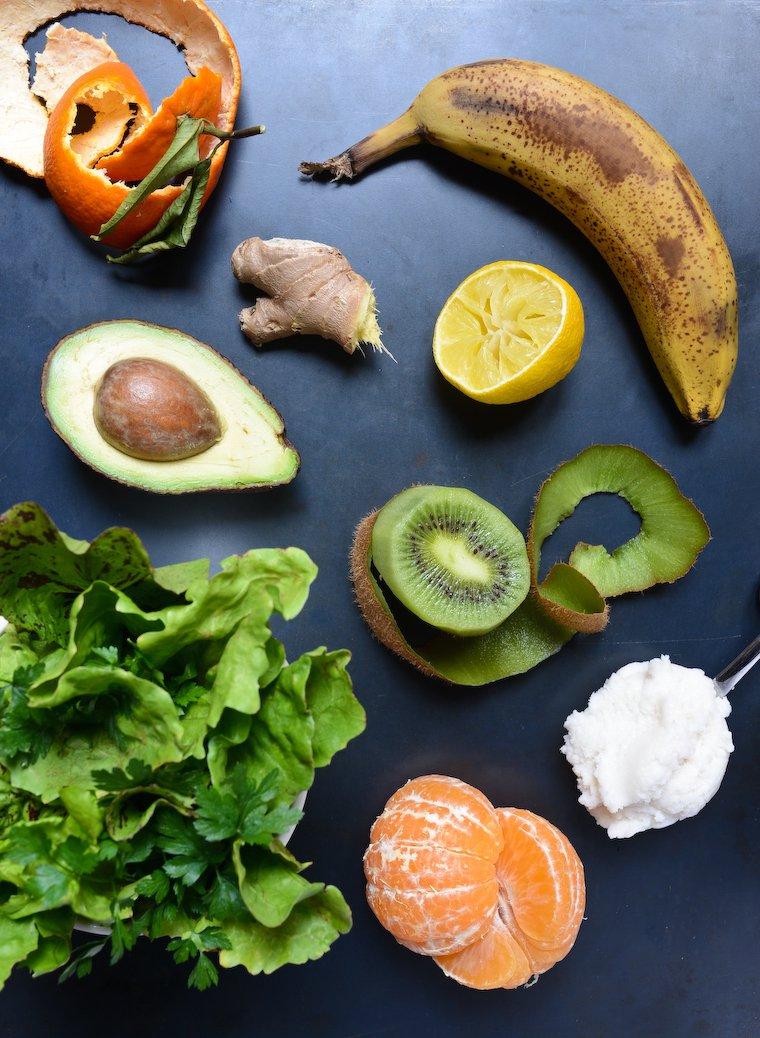 Smoothie Vert : Ingredients