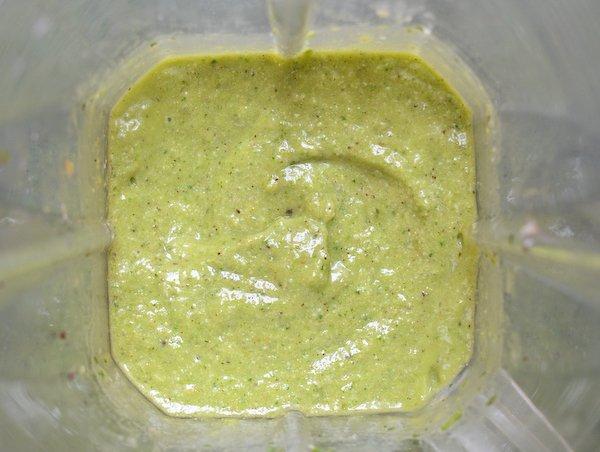 Smoothie Vert : Mixé