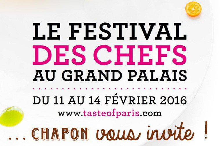 Taste of Paris : Chapon vous invite !
