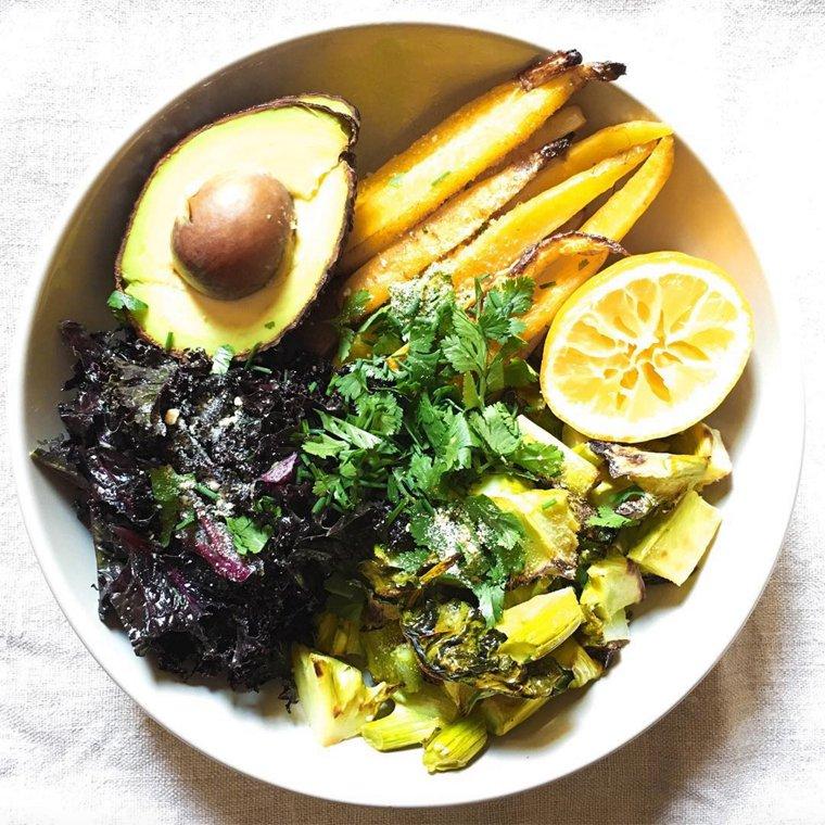 Mon déjeuner vegan