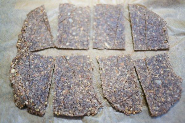 Crackers de sarrasin aux amandes