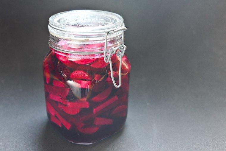 Pickles lacto-fermentés : Betteraves et navets Recette