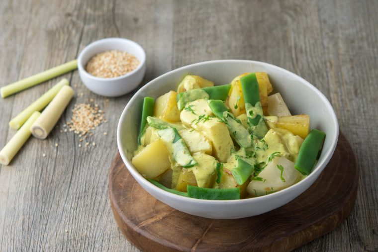Quitoque - Curry de légumes de printemps