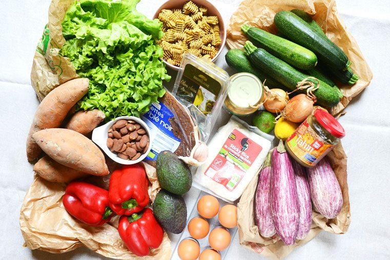 Batch cooking végétarien pour l'été