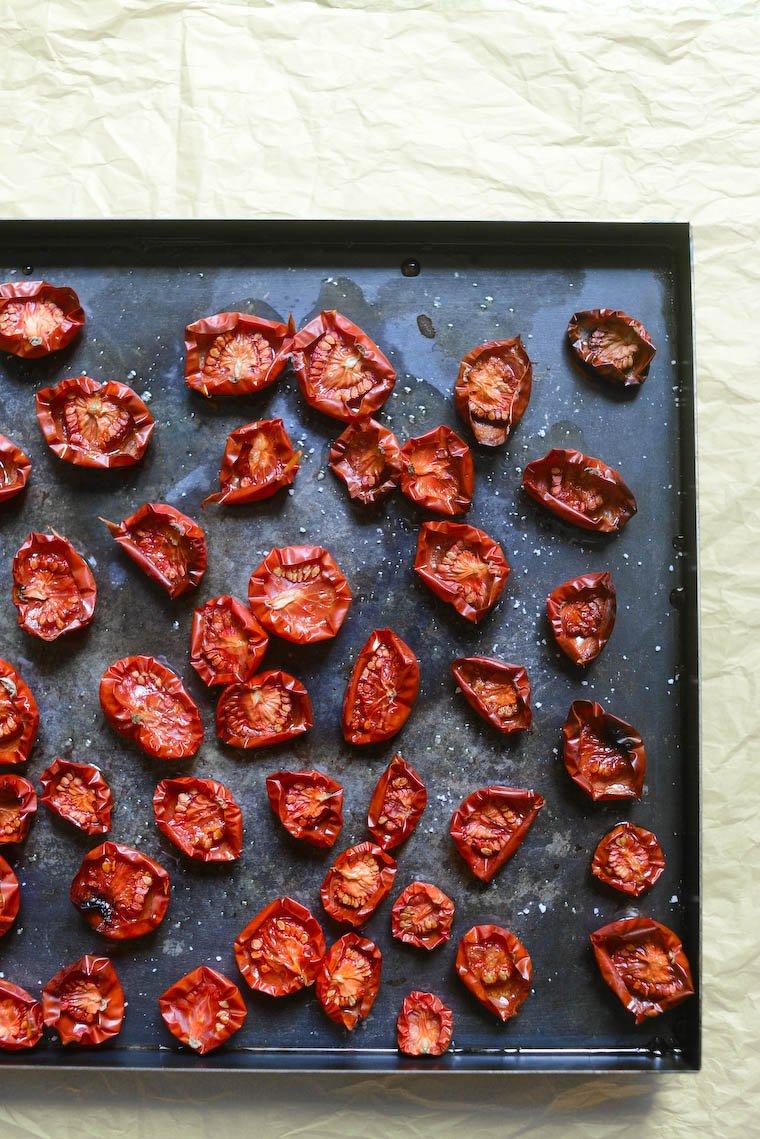 Tomates confites Recette