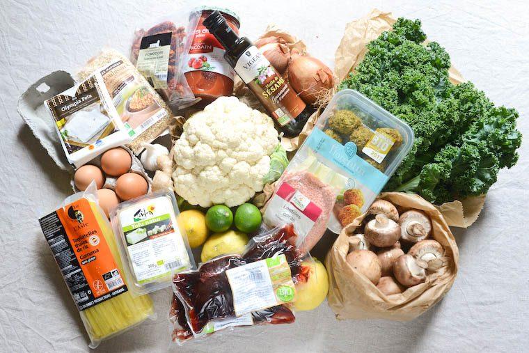 Batch cooking végétarien pour l'automne