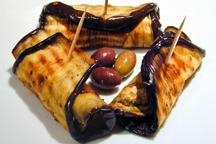 Stuffed Eggplant Mini-Rolls Recipe