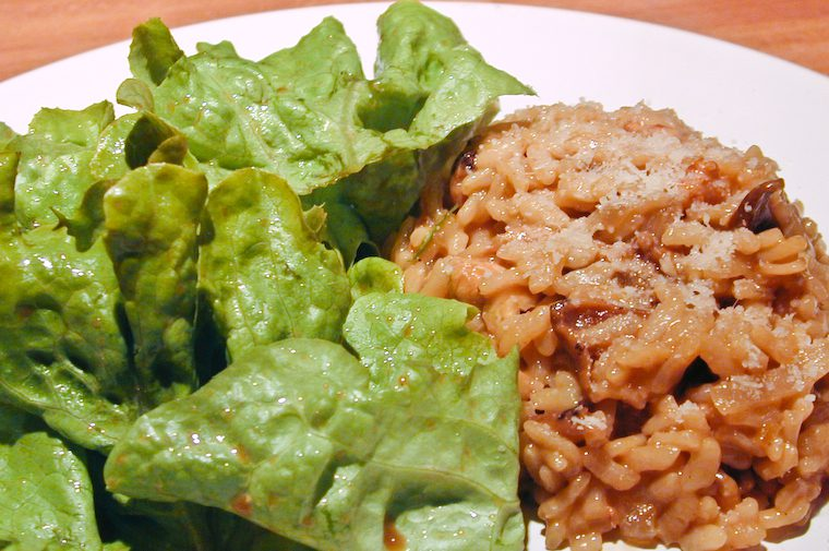 Porcini Walnut Risotto Recipe