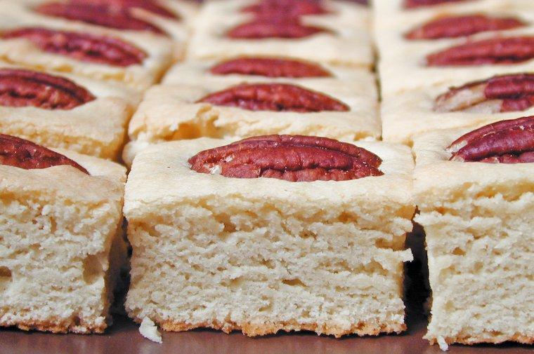 Vanilla Pecan Squares Recipe