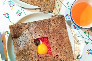 Buckwheat Crêpe (or Ggalette)
