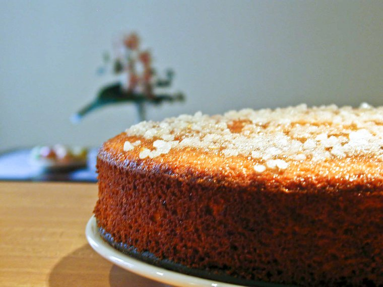 Flourless Orange and Ginger Cake Recipe