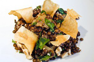 Apple and Cumin Lentil Salad
