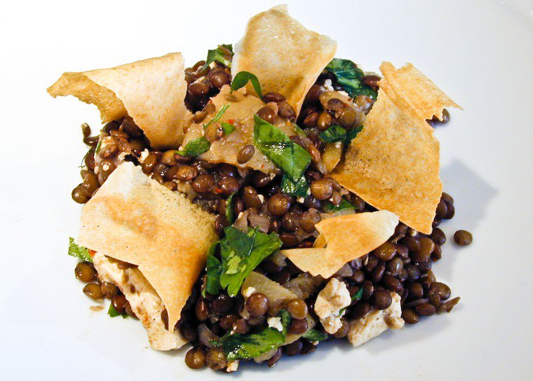 Apple and Cumin Lentil Salad Recipe