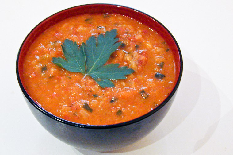 Chestnut and Chorizo Soup Recipe