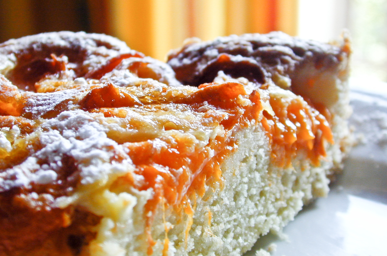 Apricot Coffee Cake Recipe