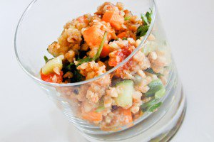 Buckwheat Gingerbread Salad