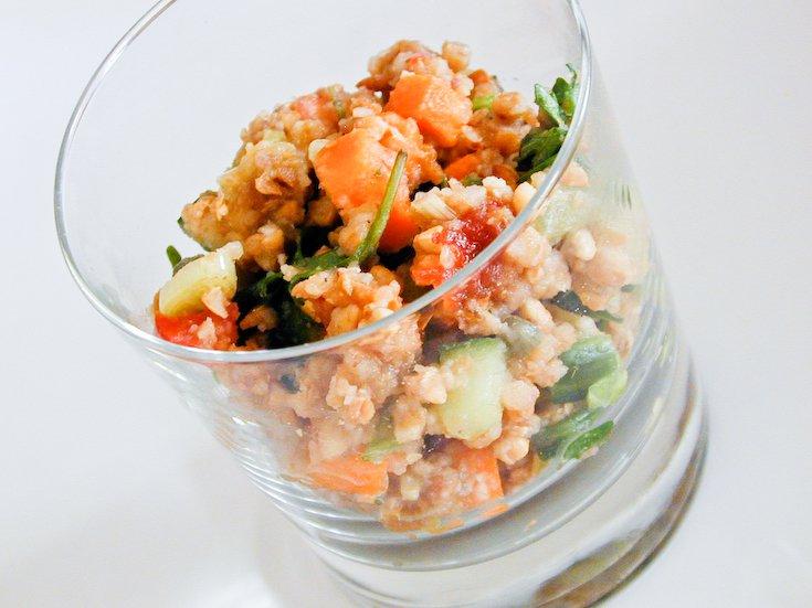 Buckwheat Gingerbread Salad