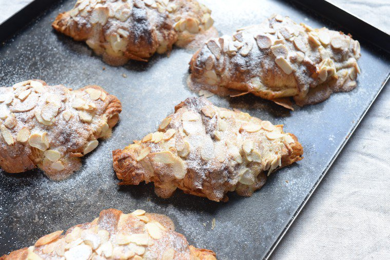 Almond Croissants Recipe