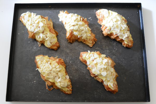 Perfect Almond Croissants: Ready for baking